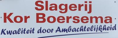 Slagerij Boersema logo